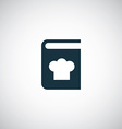 cooking book icon vector image
