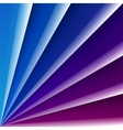 Blue and purple shiny glass layers with realistic vector image