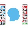 Head Icon vector image