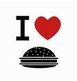 food simbol on white background vector image