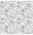 Pomegranate seamless pattern vector image