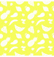 Seamless pattern with fruits and berries vector image