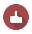 like icon vector image