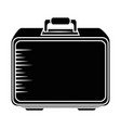 isolated safe box vector image