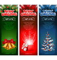 Christmas flyer vector image vector image