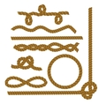 Collection of Rope vector image