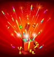 Firecracker Explosion vector image