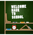 Back to school theme vector image vector image