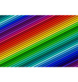 Abstract color background oblique line vector image