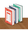 interesting book to expand of knowledge vector image