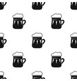 mug of beer icon in black style isolated on white vector image