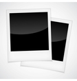 Polaroid photo frame vector image