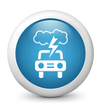 Driving Weather Forecast Icon vector image