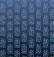 Floral pattern on blue background vector image