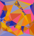 Abstract triangular color background vector image