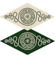 Celtic style pattern vector image