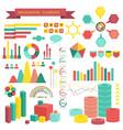 info graphics elements vector image