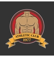 Logo for sport athletic club vector image