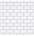 white brick seamless pattern vector image