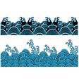 ocean wave pattern vector image