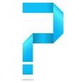 Problem help question mark vector image
