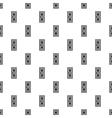 Room door pattern simple style vector image