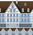 mansion vector image