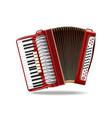 classical bayan accordion harmonic jews-harp vector image