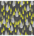 Raining background vector image vector image