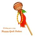 Gudi Padwa vector image