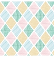 Seamless Geometric Color Tile Pattern vector image