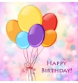 Festive Celebration Happy Birthday background vector image