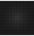 Square grid background vector image