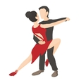 Tango icon cartoon style vector image