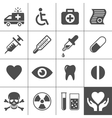 Medical and health icon set Vector Image