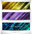 vector abstract web banner vector image vector image