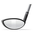 golf 26 vector image vector image