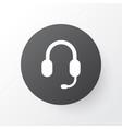 earphone icon symbol premium quality isolated vector image