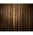 Wood texture dark vector image