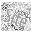 Build Free Traffic To Your Websites text vector image
