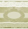 Vintage elegant card vector image vector image