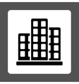 City Icon from Commerce Buttons OverColor Set vector image