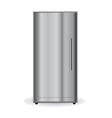 Chrome Refrigerator vector image