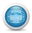 Madrid Postage icon vector image vector image