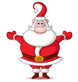 cute christmas santa claus vector image