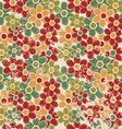 Grunge vintage floral seamless vector image vector image