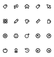 Apple Watch Icons 10 vector image