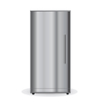 Chrome Refrigerator vector image