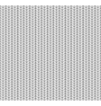 Knitted Seamless Pattern White vector image