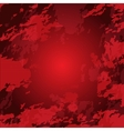 Grunge red bright background vector image